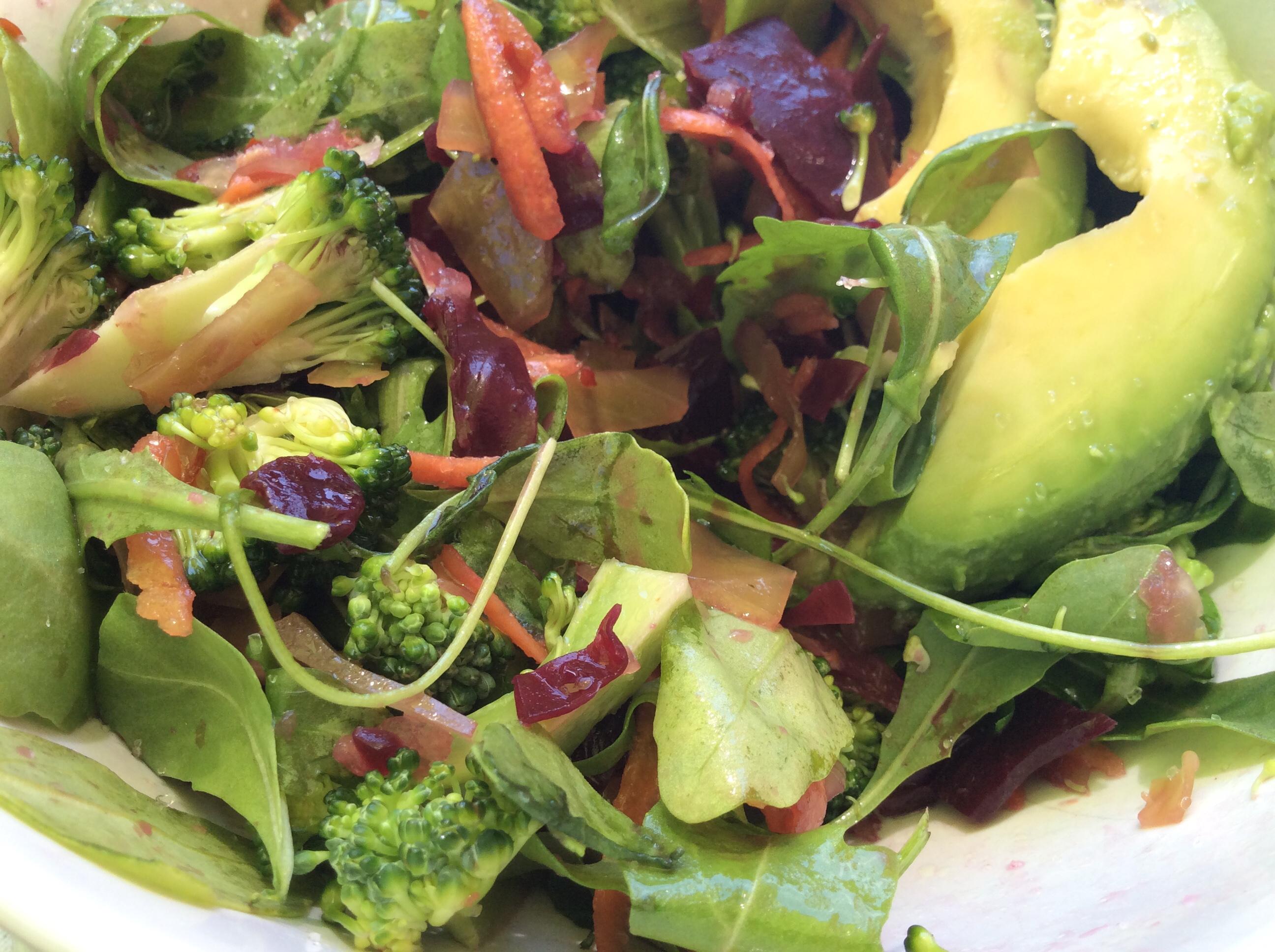 Cruciferous Salad / Salade de Crucifères